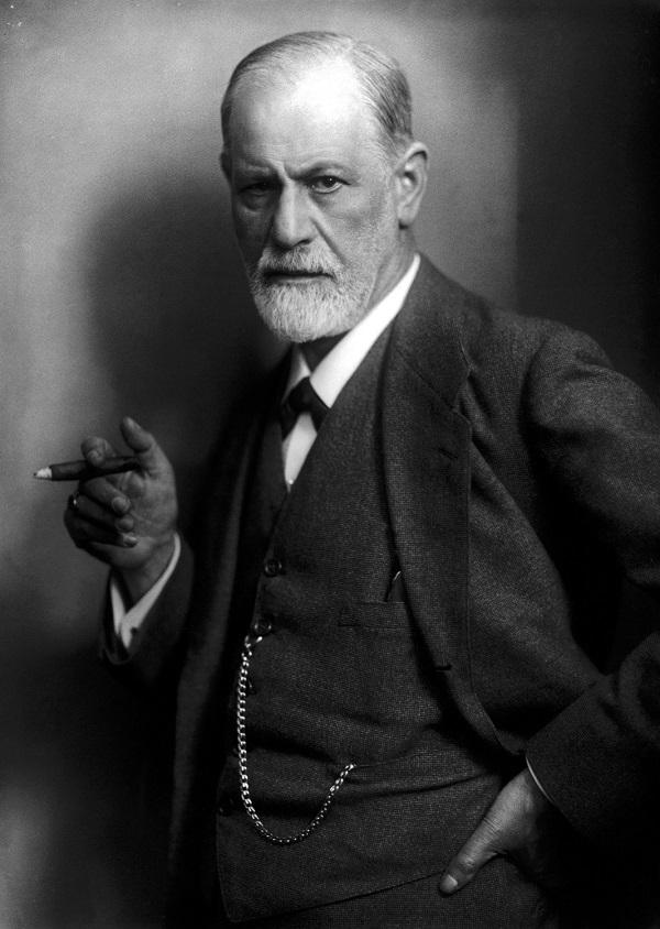 Sigmund Freud - Max Halberstadt